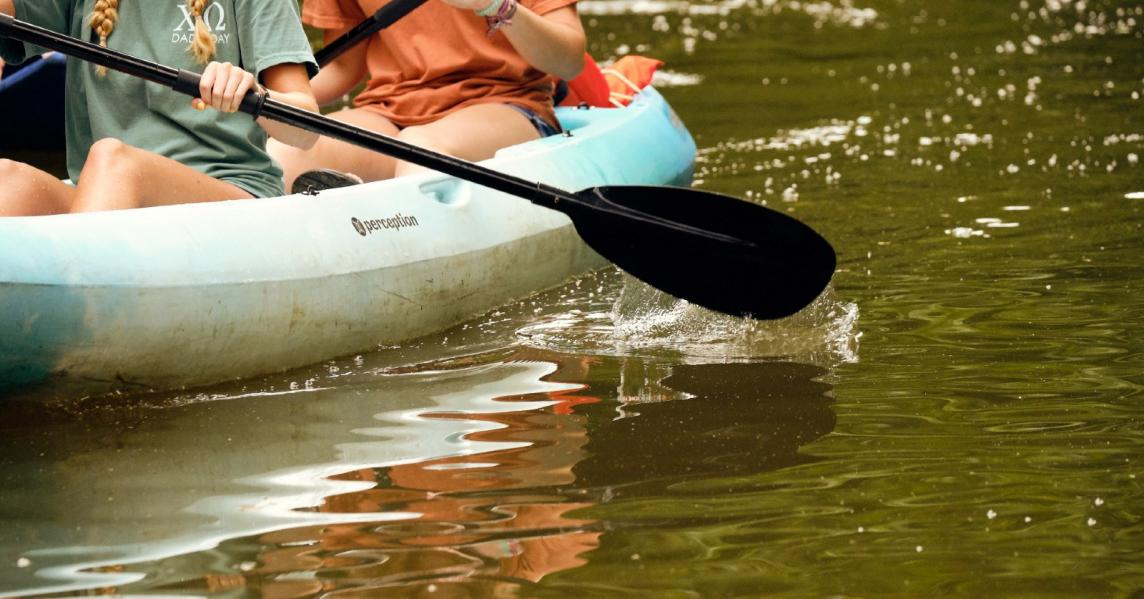 Kayakers go flatwater paddling in Kentucky