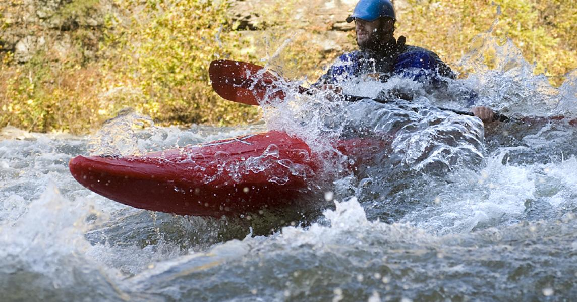 Kentucky white water kayaking
