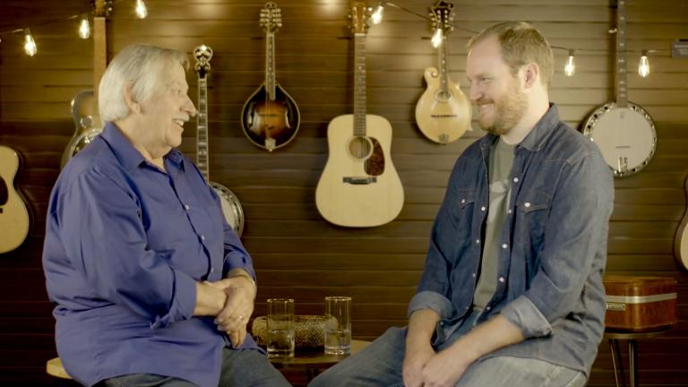 Country musician John Conlee sits down for an interview