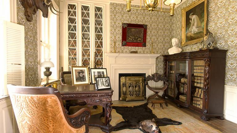 White Hall Historic House interior