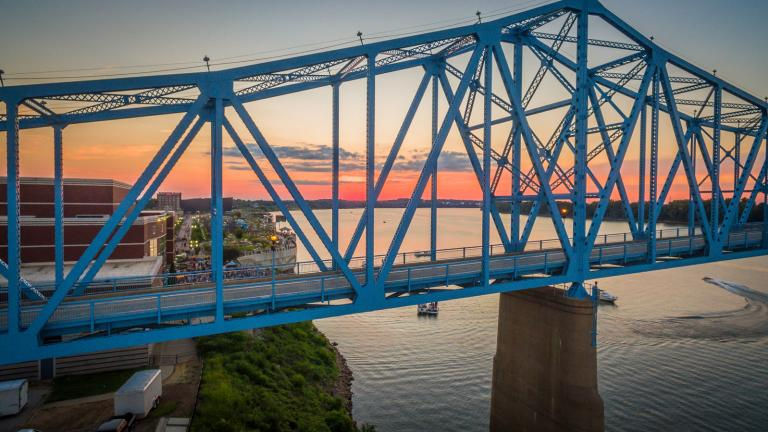 Downtown Owensboro Aerial Bridge